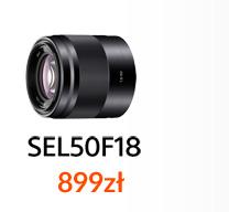 SONY SEL FE 50F1,8F