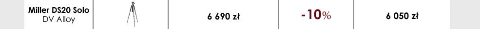 Zestaw Miller DS20 Solo DV Alloy