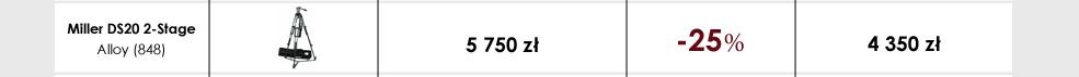 Zestaw Miller DS20 2-Stage Alloy (848)