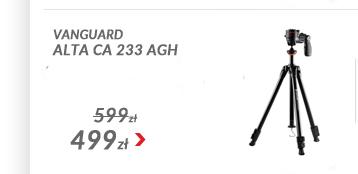Statyw Vanguard ALTA CA 233 AGH