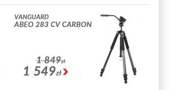 Vanguard Statyw Abeo 283 CV Carbon