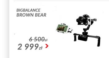Stabilizator trzyosiowy - Brown Bear