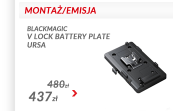 Blackmagic Design V-Mount Battery Plate Ursa
