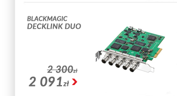 Blackmagic Design DeckLink Duo