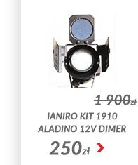 Lampa Ianiro Kit 1910 Aladino 12V dimer