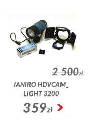 Lampka Ianiro HDVcam_light 3200