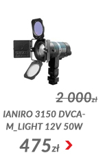 Lampa Ianiro 3150 DVcam_light 12V 50W