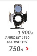 Ianiro Kit 1910 Aladino 12V dimer