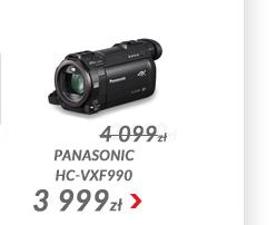 Kamera Panasonic HC-VXF990 4K Ultra HD