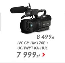 Kamera JVC GY-HM170E + uchwyt KA-HU1