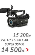 JVC GY-LS300 E 4K Super 35mm